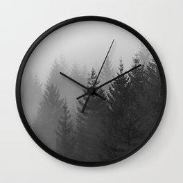 Oh Foggy Days  Wall Clock