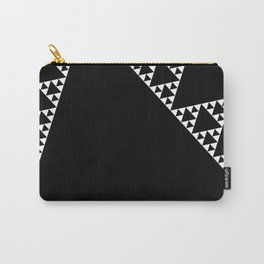 Fractal Triangle Carry-All Pouch