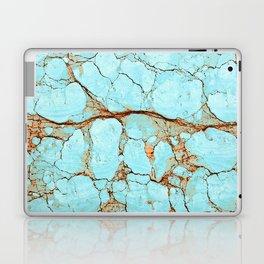 Rusty Cracked Turquoise Laptop & iPad Skin