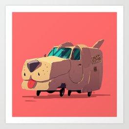 """""""it's a shaggin' wagon"""" Art Print"""