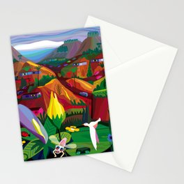 Mill Valley to Zen Gulch Stationery Cards