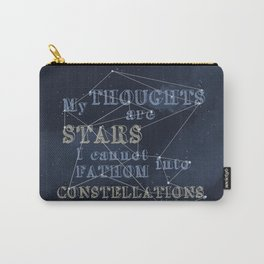 TFIOS - My Thoughts Are Stars Carry-All Pouch
