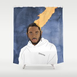Kendrick Lamar, Blue Shower Curtain