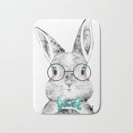 Bunny with Scarf Bath Mat