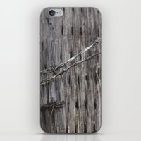 the wire iPhone & iPod Skins featuring wire  by Stephanie Dana
