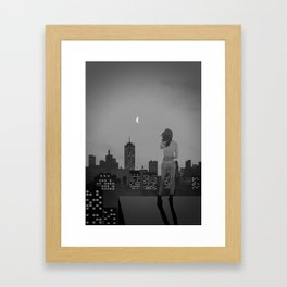 Noir City Framed Art Print