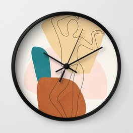 Summer Dance II Wall Clock