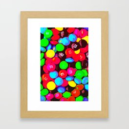 CHOCOLATE CANDY - For IPhone Framed Art Print