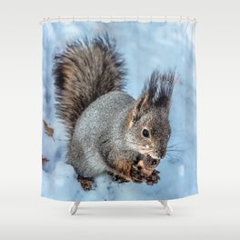 Ice age- the happy end Shower Curtain