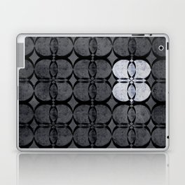 Pattern Eight Black and White Laptop & iPad Skin