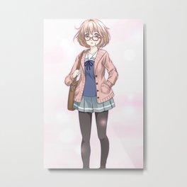 Kyoukai no Kanata Metal Print