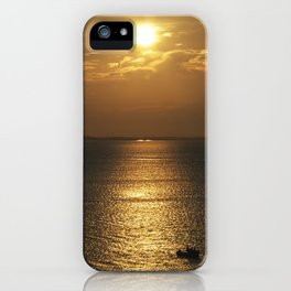 Halibut Point Sunset III - Rockport, MA - 2018 iPhone Case
