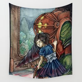 Welcome to Rapture Wall Tapestry