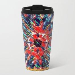 Red Tulip Haiku Travel Mug
