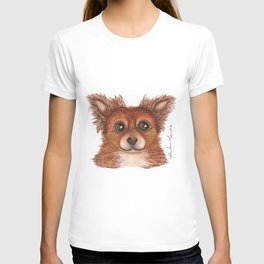 Alvin the Long-haired Chihuahua T-shirt
