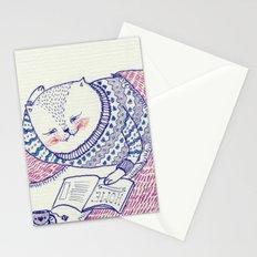 lazy saturdays Stationery Cards