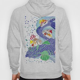 Ryba-Kit or Whale-Fish Hoody