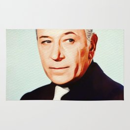 George Raft, Vintage Actor Rug