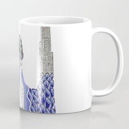 "Art Deco Design ""The Ocean"" Coffee Mug"