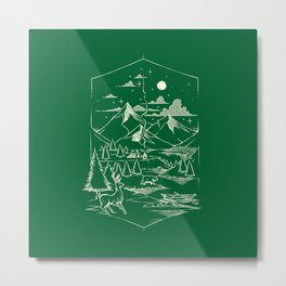 Canadian Forest Metal Print