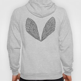 Black Cicada Wings Hoody