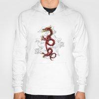 oriental Hoodies featuring Oriental Dragon by MacDonald Creative Studios