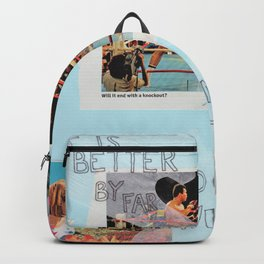 stick to the status quo Backpack
