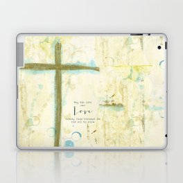 Let His Love Freely Flow Laptop & iPad Skin