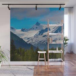 Bear_Creek Mountain Glacier - Alaska Wall Mural