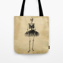 Skull Dance Tote Bag