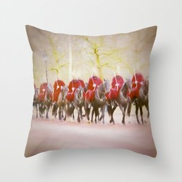 London Protected Throw Pillow