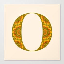 O - Amarilis Canvas Print