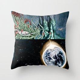 Life on the event horizon 1 Throw Pillow