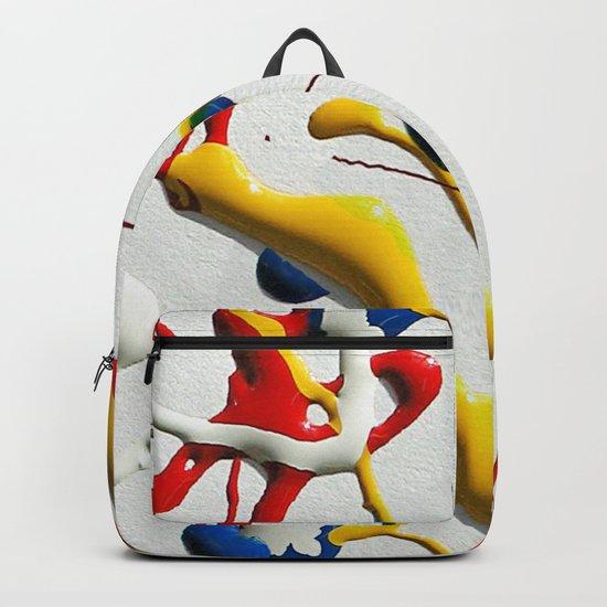 Ink Splatter Backpack