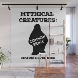Common Sense Mythical Creature Wall Mural