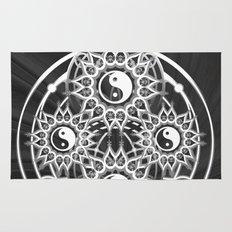 Seven Yin Yang Symmetry Balance Energy Rug