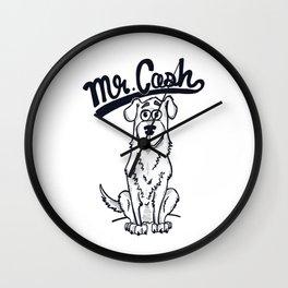 Mr. Cash Wall Clock