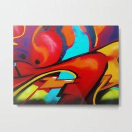 Prime Graffiti Metal Print