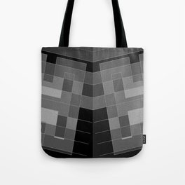 Grey H and double ... Tote Bag