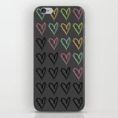 Hearts Hearts Hearts iPhone & iPod Skin