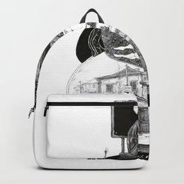 uma maça nunca é só uma maça Backpack