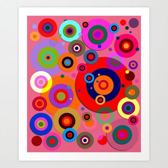 Op Art #18 Art Print