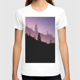 Forest in Yosemite National Park at Night T-shirt