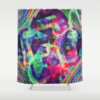 carnival Shower Curtains featuring Carnival by Truly Juel