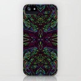 Lucid Dreams - Purple/Green iPhone Case