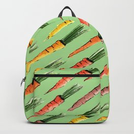 Happy colorful carrots pattern Backpack