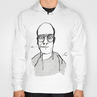 hunter s thompson Hoodies featuring Hunter S Thompson by daniel davidson