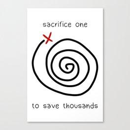 Life is Strange - Sacrifice One Canvas Print