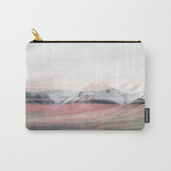 Rose Fog Carry-All Pouch