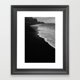 Washed in black Framed Art Print